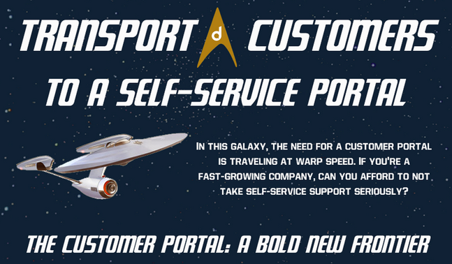 Why You Should Transport Your Customers to Self-Service Support [INFOGRAPHIC]