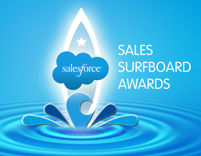 4 Big Brands Receive Salesforce Sales Surfboard Awards