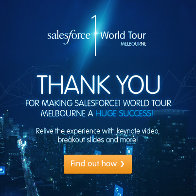 The Hills Were Alive with the Sound of the Salesforce1 World Tour