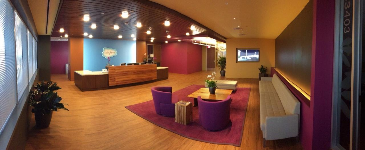 Sneak a Peek at Salesforce.com's New Atlanta Office!