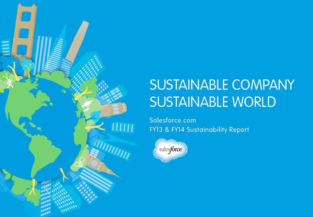 5 Highlights from Salesforce.com's Sustainability Report