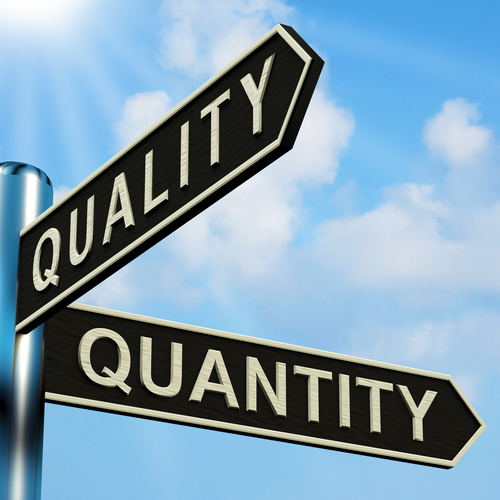 More is Not Better: When it Comes to Leads, Quality Trumps Quantity Every Time