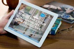 """How to Make Your Road Warriors More Productive"" A New Salesforce E-Book"