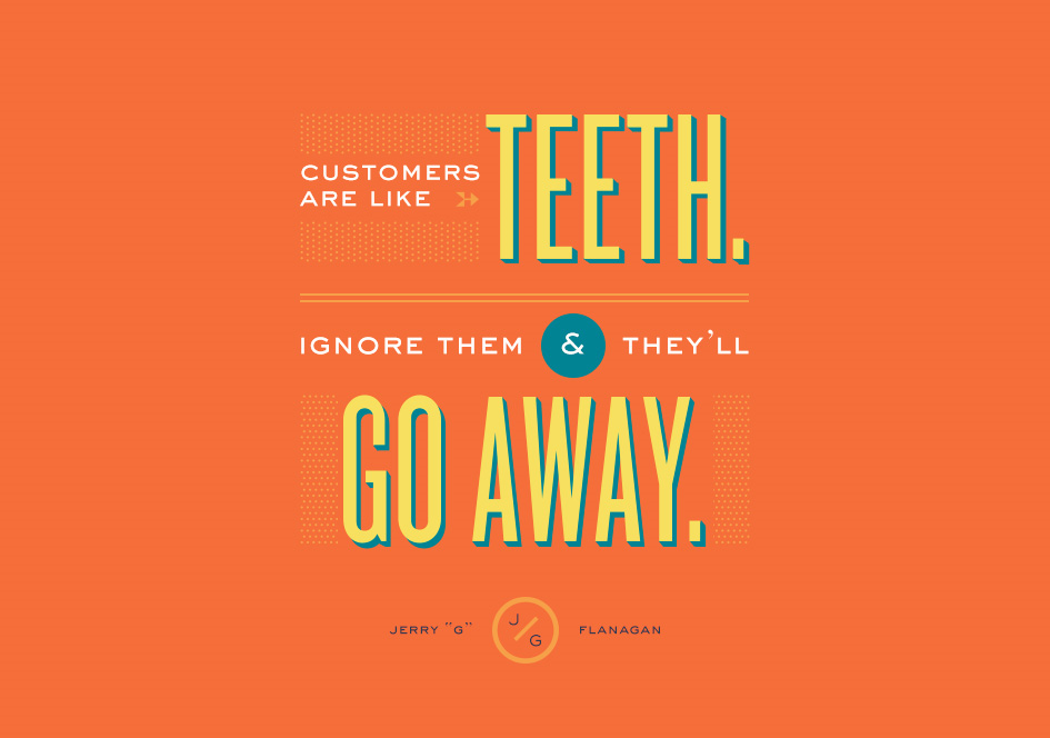 Don't ignore customers