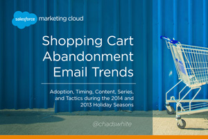Shopping Cart Abandonment Email Trends