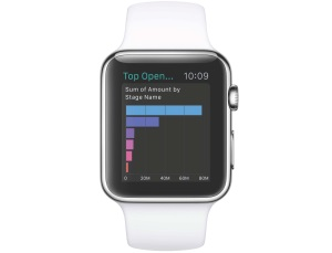 Salesforce macht Apple Watch zum Must-have fürs Business