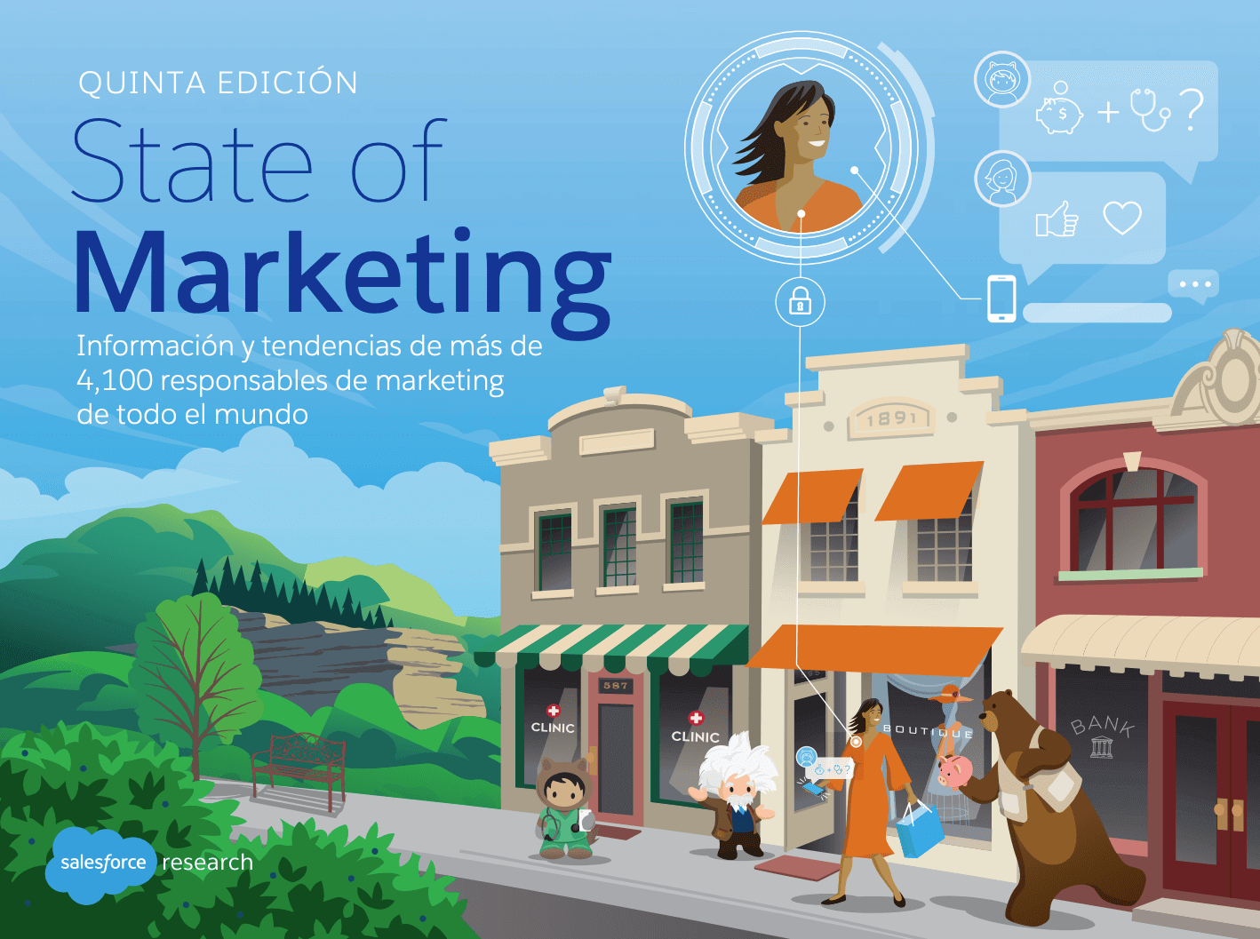 Presentación del quinto informe State of Marketing de Salesforce: las tendencias que redefinen la profesión
