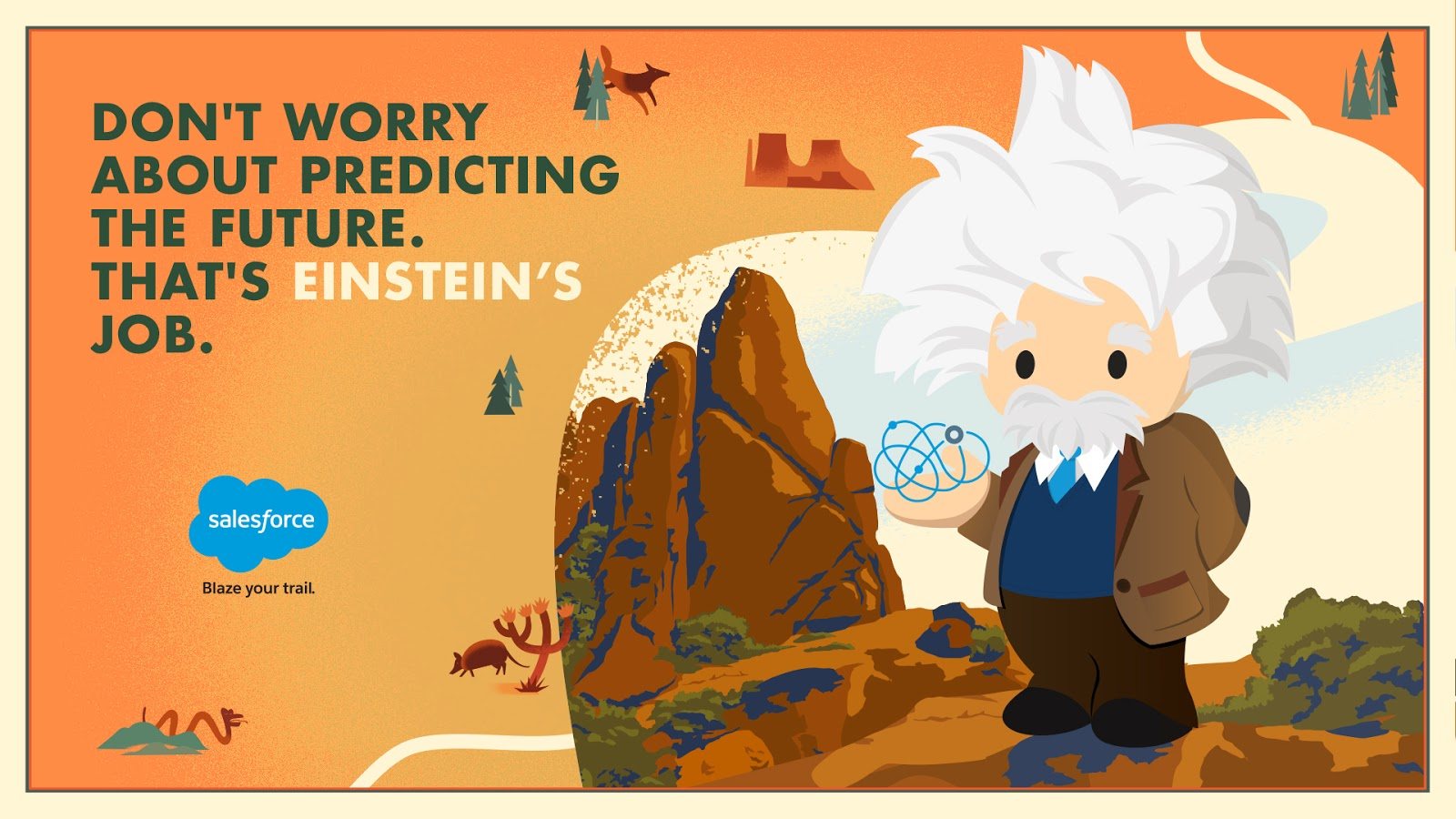 Salesforce Einstein: Get In The Trailmix!
