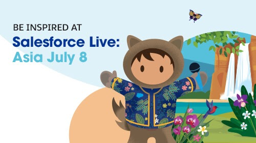 Be Inspired by Our Trailblazers at Salesforce Live: Asia
