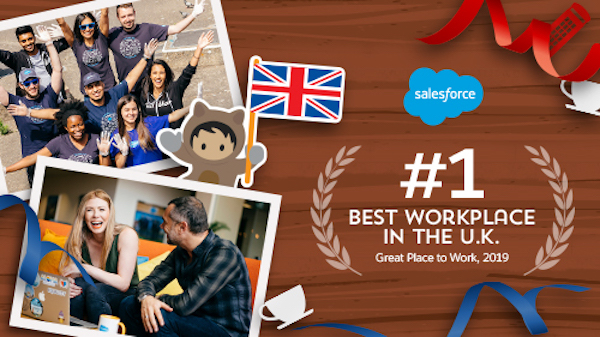 Salesforce U.K. Is The #1 Best Workplace — Thanks To Our Employees