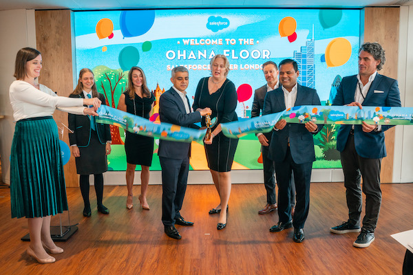 Salesforce Welcomes Dreamforce to London, Unveils New Ohana Floor and Announces UK Workforce Development Initiatives