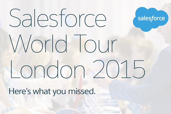 Salesforce World Tour London 2015: Infographic Round-Up