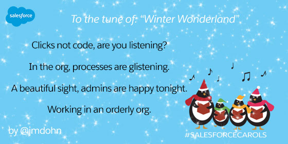 Salesforcecarols happy holidays from salesforce salesforce blog salesforcecarols was driven by of our communitys passion for salesforce and excitement for the holidays says tiffany hsu community manager at m4hsunfo