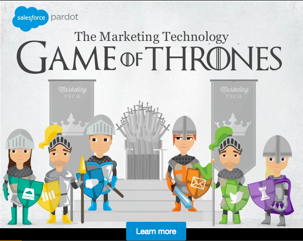 The Marketing Technology Game of Thrones [SlideShare]