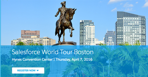 Experience the Salesforce World Tour in Boston from Anywhere!