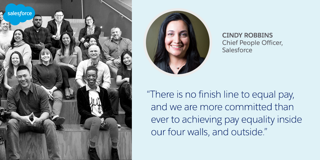 2018 Salesforce Equal Pay Assessment Update