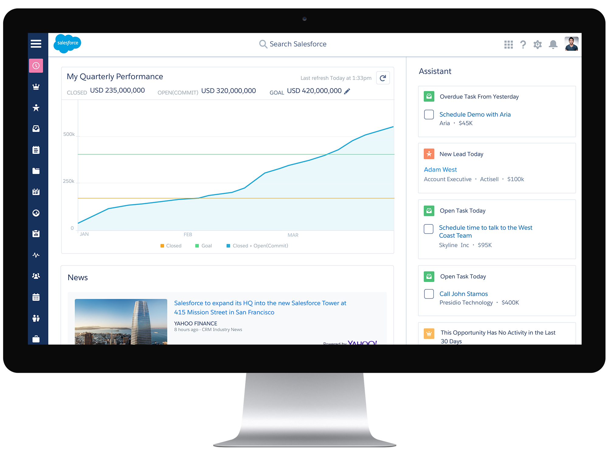 Welcome to the Future of CRM. Welcome to Salesforce Lightning ...