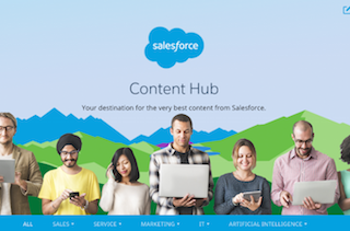Your New Favorite Resource in 2017: The Salesforce Content Hub