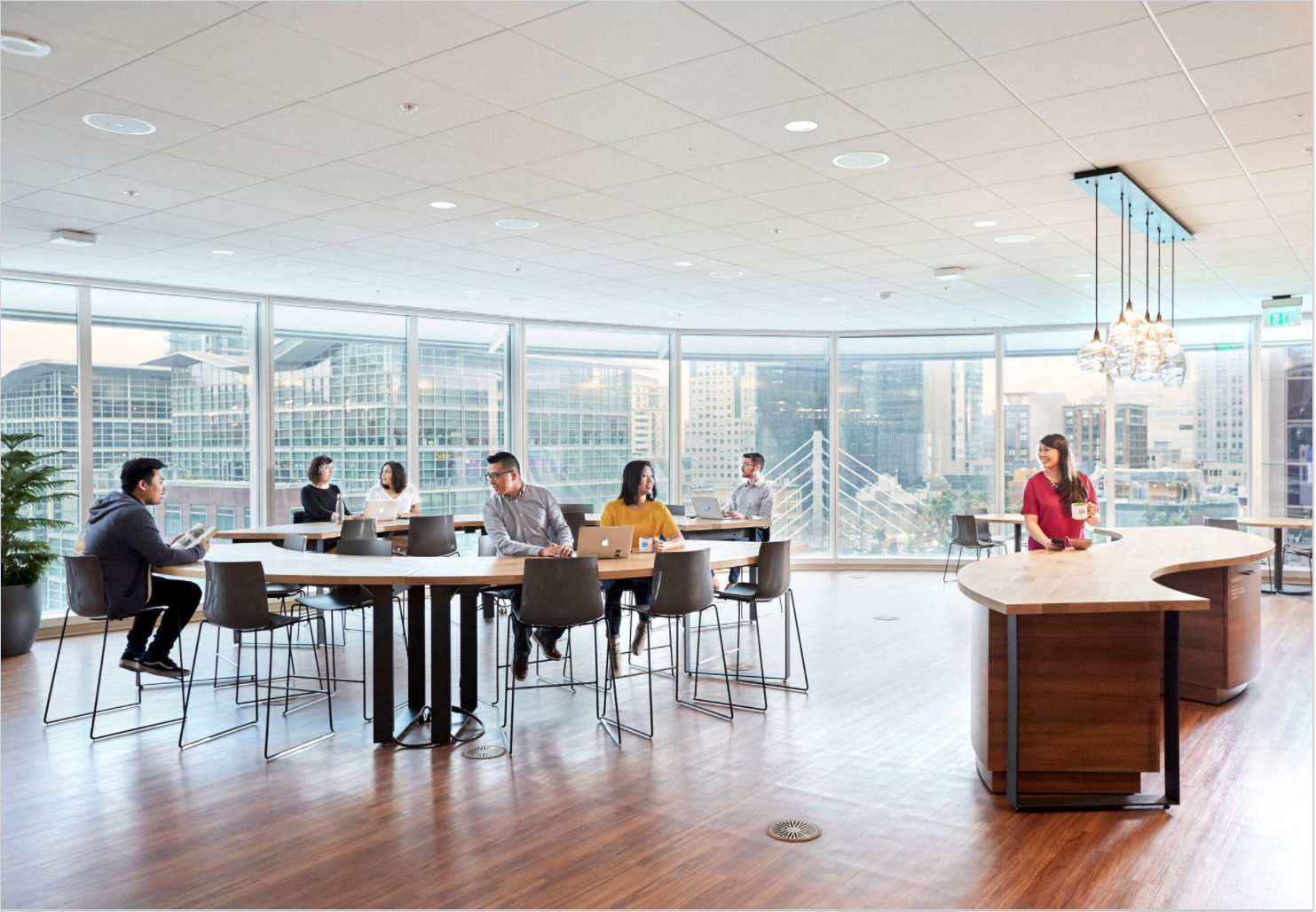 A look inside salesforce tower salesforce blog