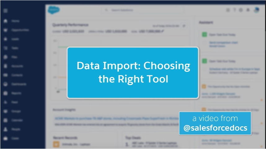Video: How to Import Data into Salesforce