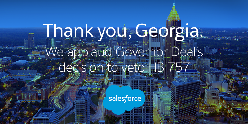 Our Statement on Georgia Gov. Deal's Decision to Veto HB 757