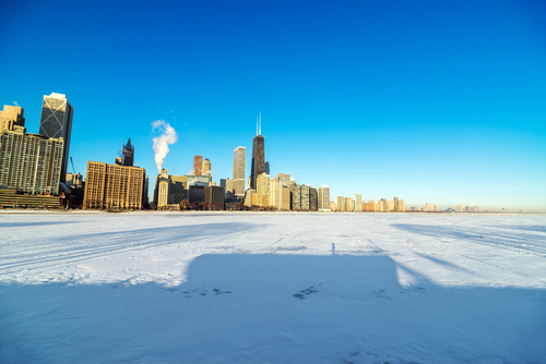 The Salesforce World Tour Warmed Up a VERY Snowy Windy City