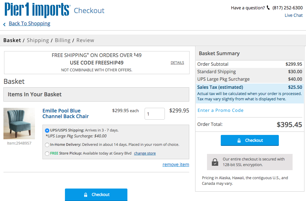 UX Best Practice: The All-Important 'Add-to-Cart' Page - Salesforce Blog