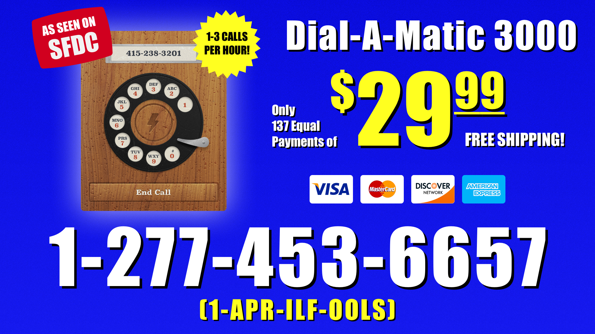 Introducing Lightning Dialer 1950