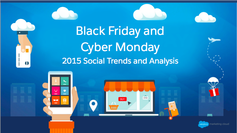 Black Friday and Cyber Monday 2015 Social Trends and Analysis from Salesforce
