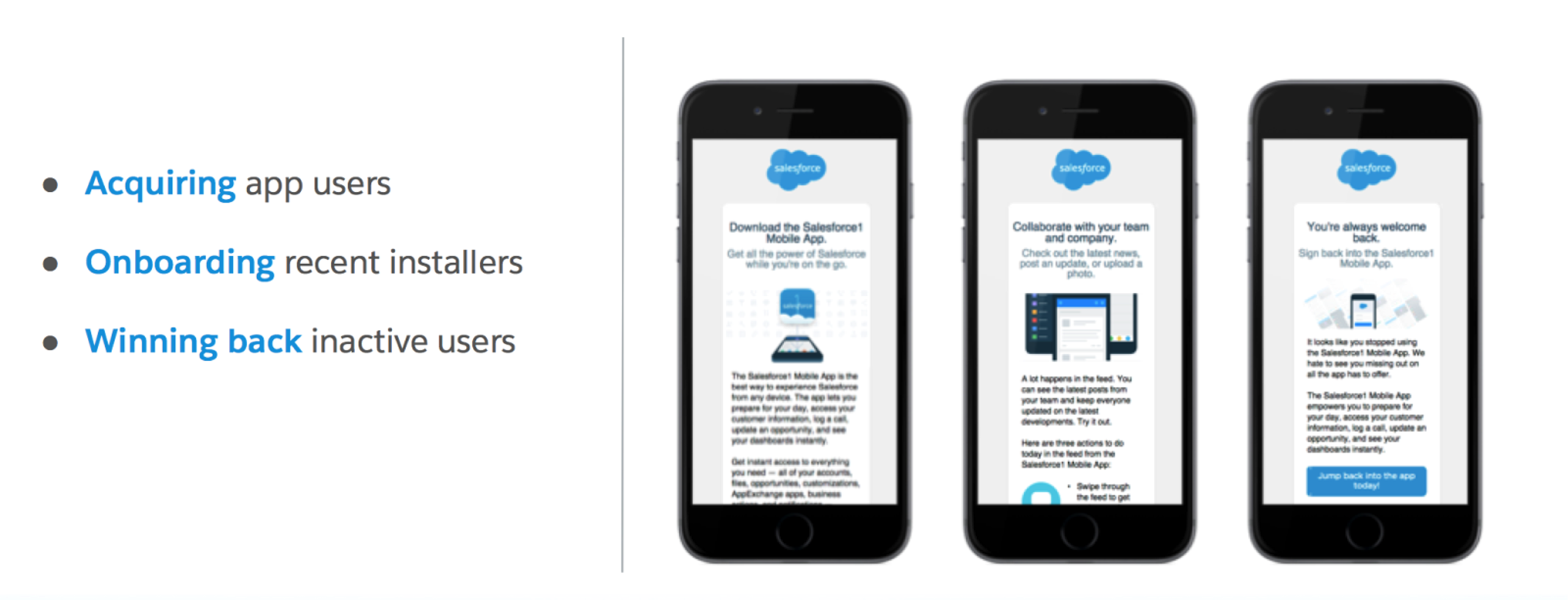 Inside View How Salesforce Uses Marketing Cloud To Drive Mobile App Adoption Salesforce Blog