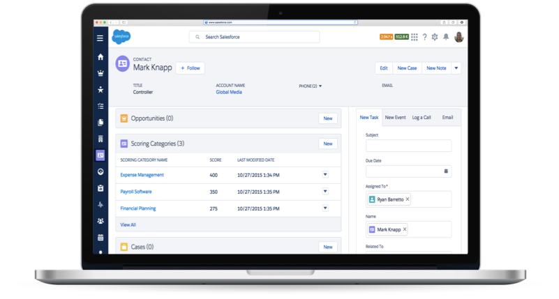 Salesforce Announces New Gmail Integration, New Reporting Dashboards and Faster Data-Sync for Pardot