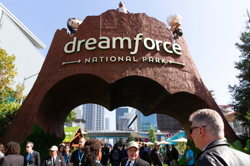 The Major Dreamforce Press Releases, Most Recent on Top