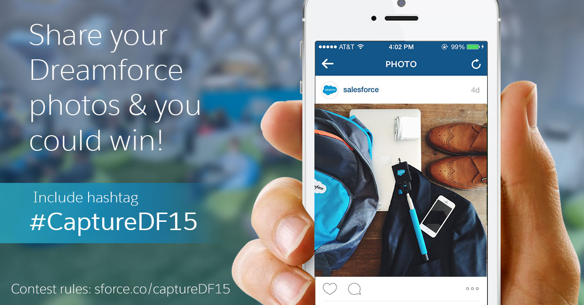 #CaptureDF15: Share Your Favorite Dreamforce Photos!
