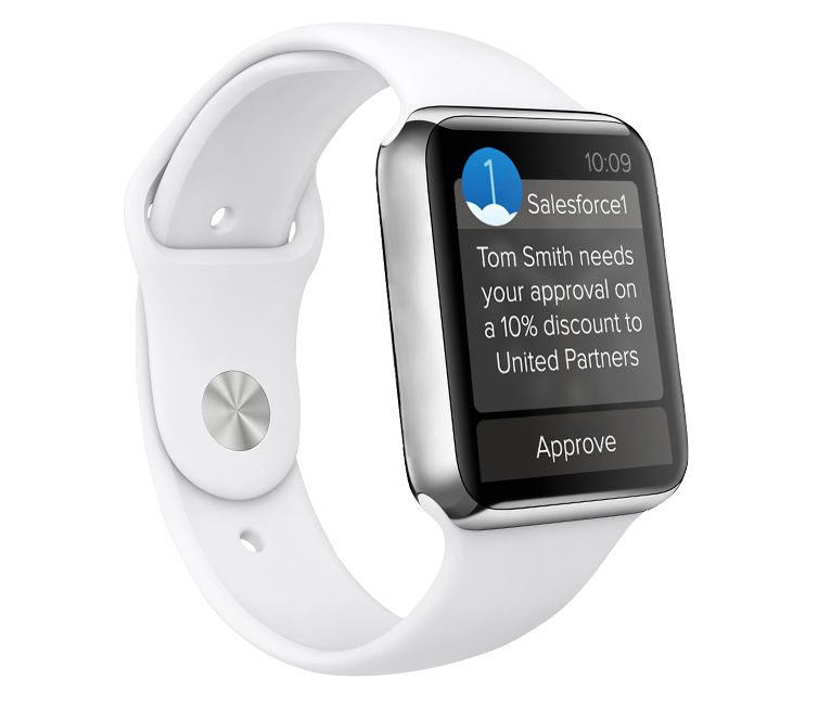 Behind the Scenes: Salesforce on the Apple Watch