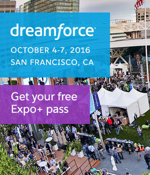 Get Your Dreamforce '16 Free Expo+ Pass