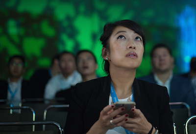 10 Words Attendees Used to Describe Day 3 of Dreamforce.