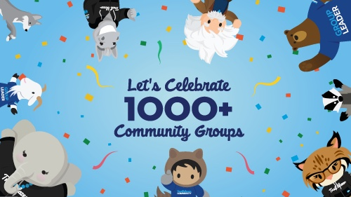 1000 community groups celebration