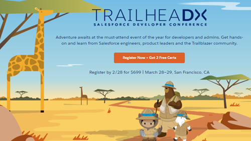 3 Epic Reasons Why You Simply Can't Miss TrailheaDX '18!