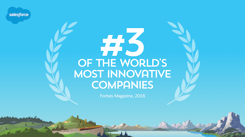 Forbes Lists Salesforce Among World's Most Innovative Companies For Eighth Consecutive Year