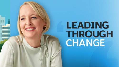Leading Through Change with Julie Sweet