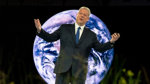 Al Gore Brings a Sustainability Revolution to Dreamforce '18 Climate Summit