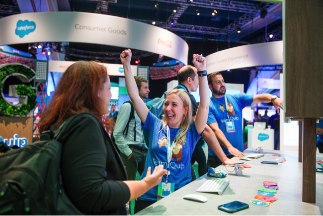 15 Photos that Highlight the Best of the Salesforce Campground