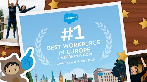 Salesforce Is Europe's #1 Best Workplace – For The Second Year In A Row