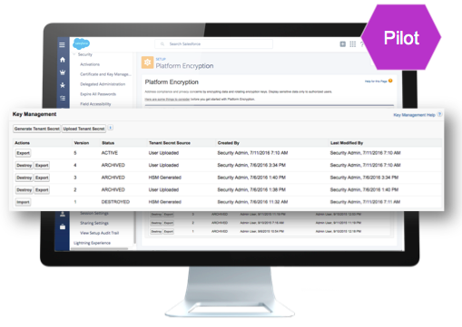 Announcing Bring Your Own Key Encryption for the Salesforce Platform