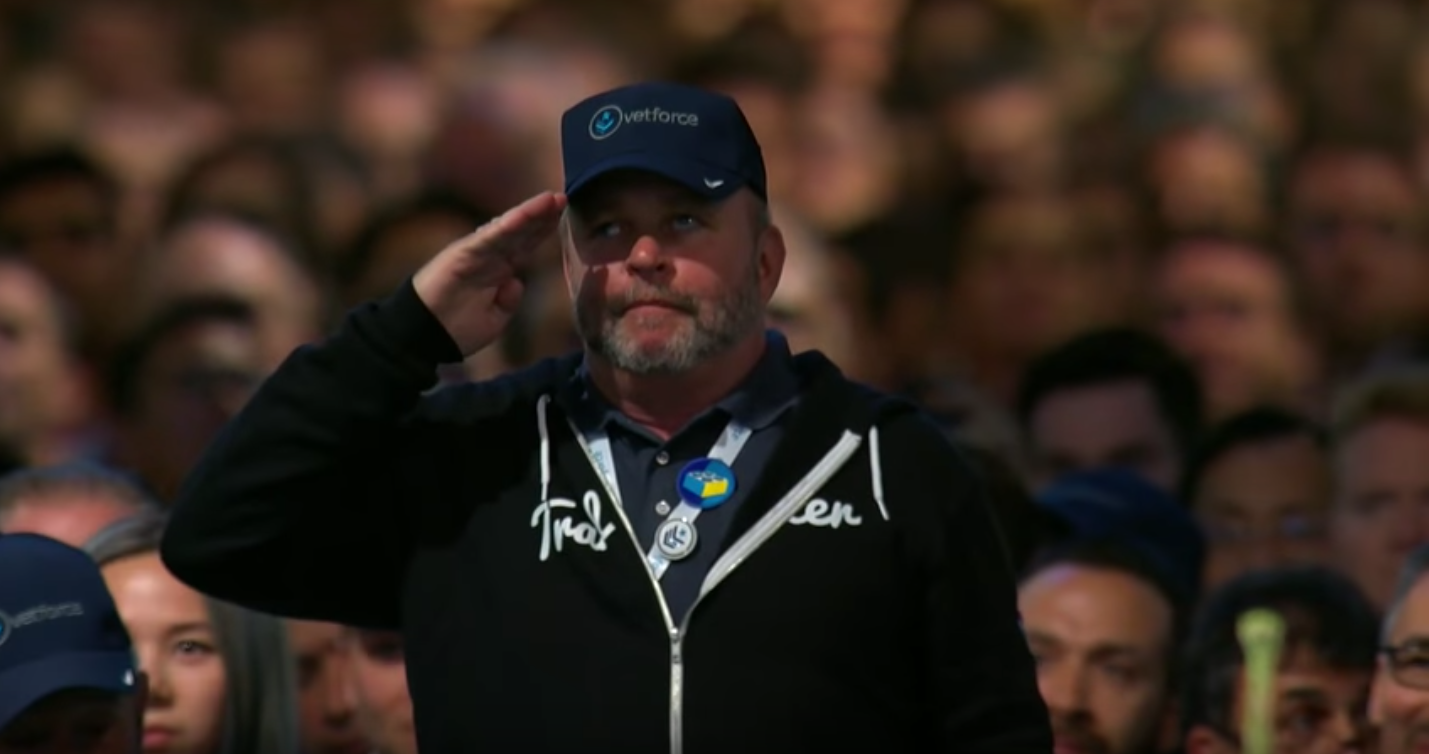 Celebrating Military Veteran Trailblazers at Dreamforce '17