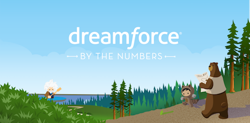Dreamforce '17 by the Numbers