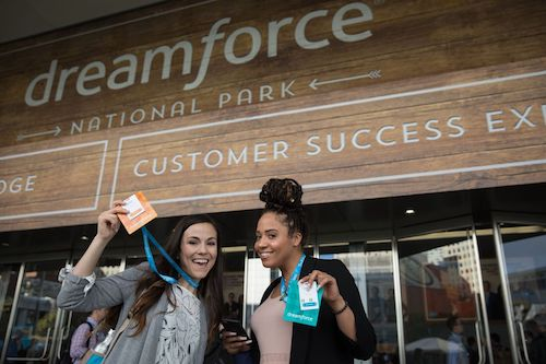 4 Amazing Moments from Day 1 of Dreamforce