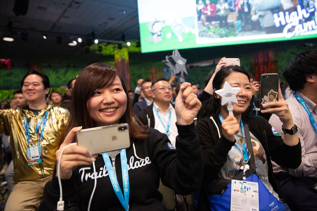 Dreamforce '18 in Pictures