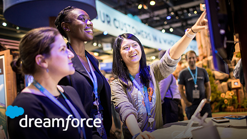 Start Your Dreamforce '19 Journey at the Customer 360 Experience