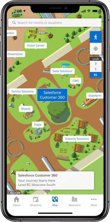 The Salesforce Events App: What's New for Dreamforce '19 ... on